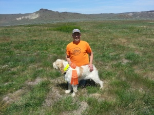 Darby Canyon Doc Savage earns his hunt title, 5/17/2014